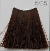 C:EHKO COLOR VIBRATION Безаммиачная крем-краска для волос 100 мл 5/35 ЗОЛОТИСТО-КРАСНО-КОРИЧНЕВЫЙ