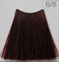 C:EHKO COLOR VIBRATION Безаммиачная крем-краска для волос 100 мл 6/8 КРАСНЫЙ РУБИН