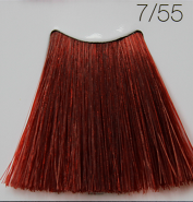 C:EHKO COLOR VIBRATION Безаммиачная крем-краска для волос 100 мл 7/55 СВЕТЛЫЙ ГРАНАТ