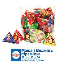 Пирамидка Маша с драже и ТАТТОО 50 шт