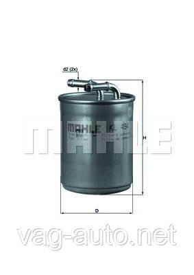 Фильтр топливный Skoda Rapid 1.6TDI