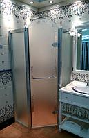 Душевая кабина Volle Grand Tenerife Silver 10-22-166 S профиль серебро/матовое стекло 100х100 см