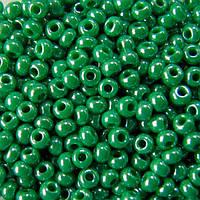 Чешский бисер Preciosa 50г 33119-58250-10 зеленый