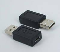 Переходник micro USB (мама) female - USB (папа) male FM