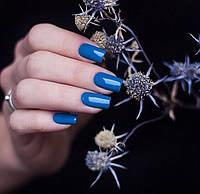 Подбираем гель-лак для ногтей PNB к синему платью