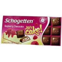 "Шоколад Schogetten ""Raspberry Cheescake"" , 100г"