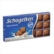 "Шоколад Schogetten ""Alpine milk Chocolate"" , 100г"