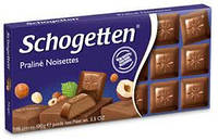 "Шоколад Schogetten ""Praline Noisettes"" , 100г"