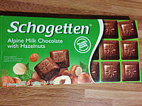 "Шоколад Schogetten ""With Hazelnuts"" , 100г"