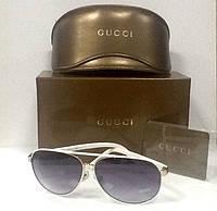 Очки Cucci солнцезащитные белые .