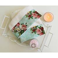 Полотенце махровое Barine - Vintage Rose белое 30*50