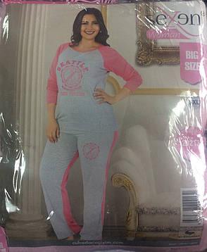 Женская пижама большого размера, фото 2