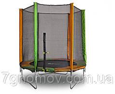 Батут KIDIGO 183 см с защитной сеткой в комлекте 3-10 лет