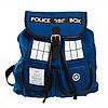 Рюкзак Doctor Who Dr. Blue (Доктор Ху Доктор Блу) Tardis Knapsack Backback
