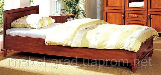 Кровать односпальная КТ-550 Роксолана БМФ 80х200