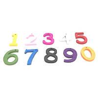 Декоративные цифры 10шт в упаковке от 0-9