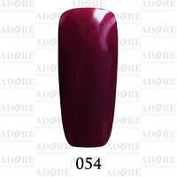 Гель-лак Adore Professional № 054 (темная вишня) 9мл ADR 054/96