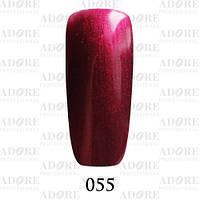 Гель-лак Adore Professional № 055 (винный с шиммером) 9мл ADR 055/96
