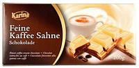 Немецкий шоколад Karina «Feine Kaffee Sahne» 200 г