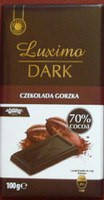 Немецкий шоколад LUXIMA DARK  «70% cacao» 100 г