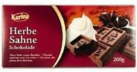 Немецкий шоколад Karina «Herbe sahne» 200 г