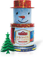 Чай Хайсон Frosty Snowman Морозный Снеговик черн. 150г