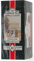 Чай  Ahmad Tea  40х2 English Breakfast б/н / 10шт