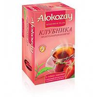 Чай  Alokozay Tea 25конв чай чорний з полуницею