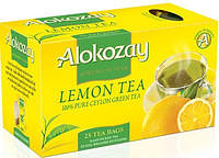 Чай  Alokozay Tea 25конв чай чорний з лимоном
