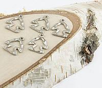 Подвеска фигурка серебро 21мм (10 штук)