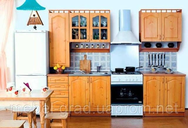 Кухня Каріна з пеналом МДФ 2.0 м БМФ