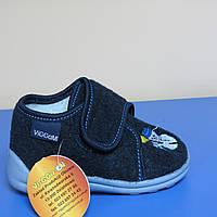 Детские текстильные  ботинки для мальчиков Польша Vi-gga-mi  19р (12см стелька)