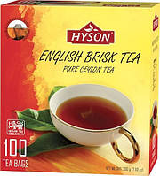 Хайсон 100*2г (черный чай)англ бодр бриск