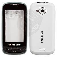 Корпус для Samsung S5560 - оригинал (белый)