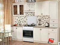 Кухня Оля Люкс ясень шимо 2,0 м БМФ