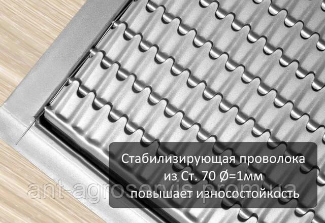 Стабилизирующая проволока из Ст70 диаметром 1мм повышает износостойкость