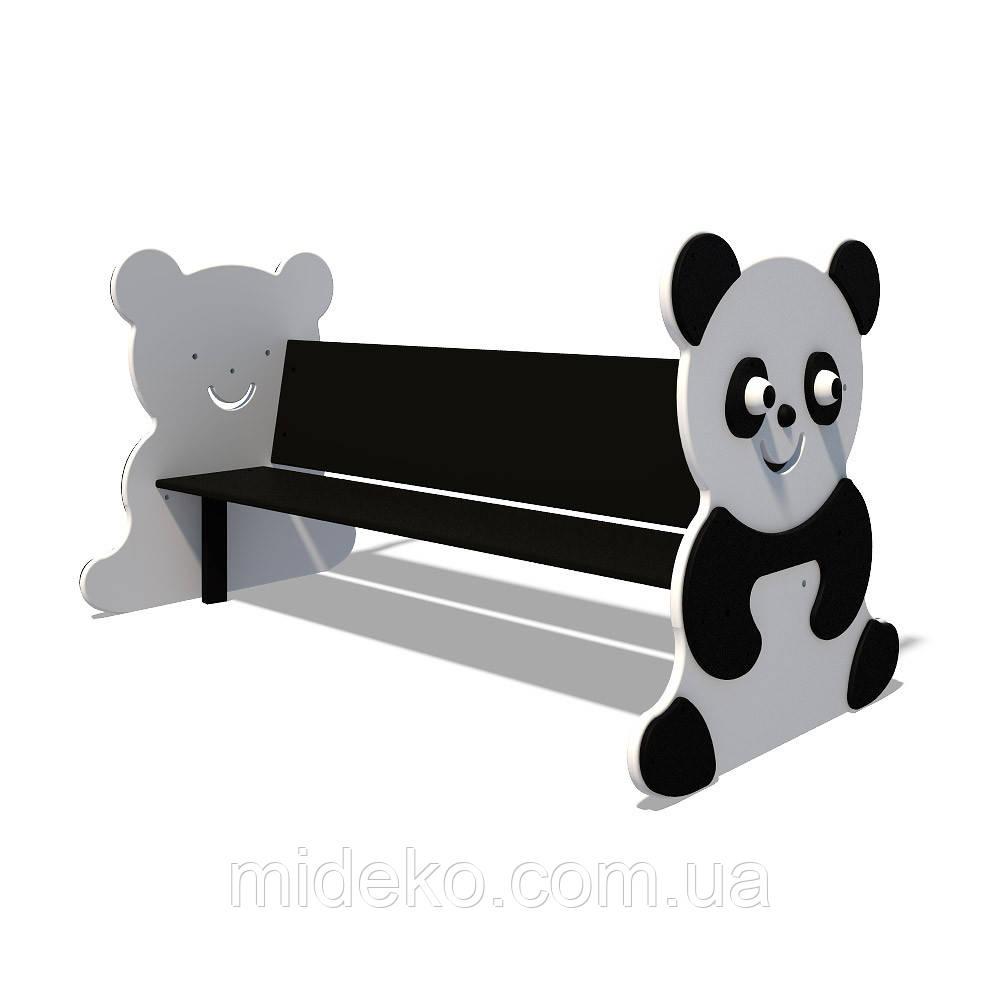 "Детская скамейка Interatletika ""Панда"" S745"