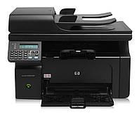 БУ черно белое лазерное МФУ HP LaserJet M1212nf mfp формата А4, фото 1