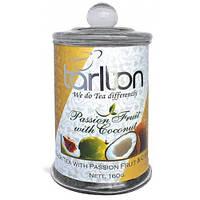ТАРЛТОН 160г с/б Плод страсти черн.(кокос и маракуйа )
