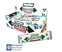 Жвачка - пластинка Pepermint 3,5гр х 100 х 12
