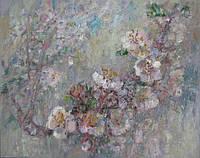 Картина для декора «Цветение вишни»