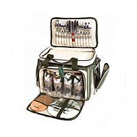 """Набор посуды для пикника на 4 персоны НВ 4 -533 """"Скаут"""""""