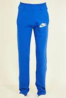 Популярные спортивные штаны Nike в синем цвете