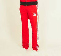 Красные спортивные штаны Adidas