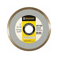 Круг алмазный 1A1R Baumesser Universal ceramics 125 мм отрезной алмазный диск по керамической плитке