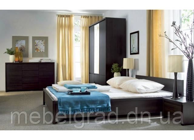Спальня Каспіан / Kaspian BRW венге