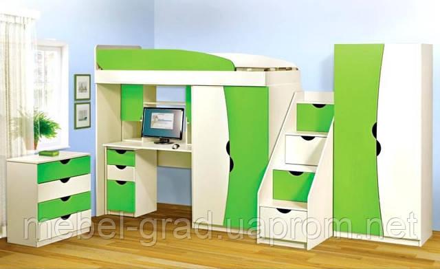 Детская комната Бамбино Im-mebli