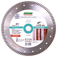 Круг алмазный Distar Turbo Bestseller Universal 230 мм отрезной диск по бетону, граниту и тротуарной плитке