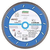 Круг алмазный Distar Turbo Extra Aero TS55H 230 мм отрезной диск по высокоармированному бетону