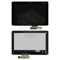 Дисплей + сенсорное стекло (touchscreen) для Acer Iconia Tab A210 / A211, черный, оригинал